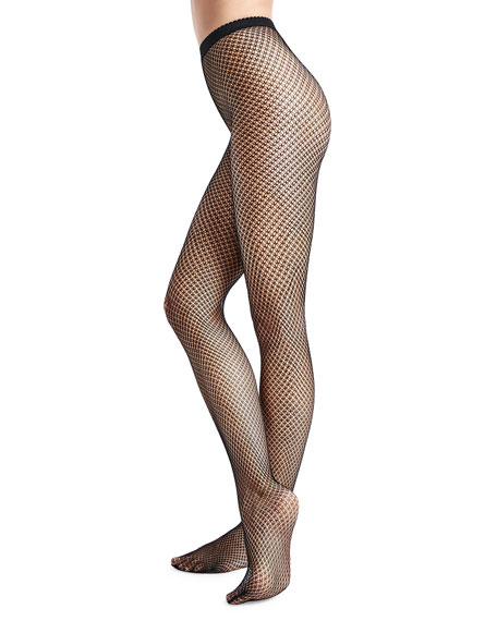 Wolford Multi-Dish Scale Net Tights