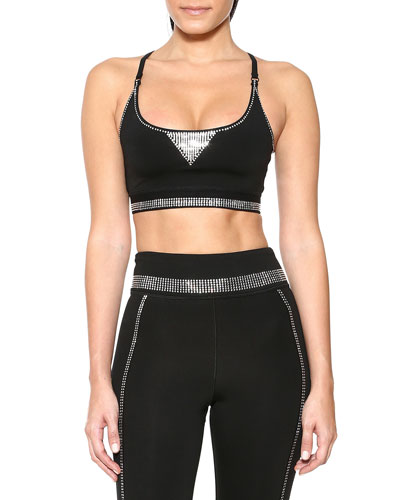 Crystal Core Sports Bra
