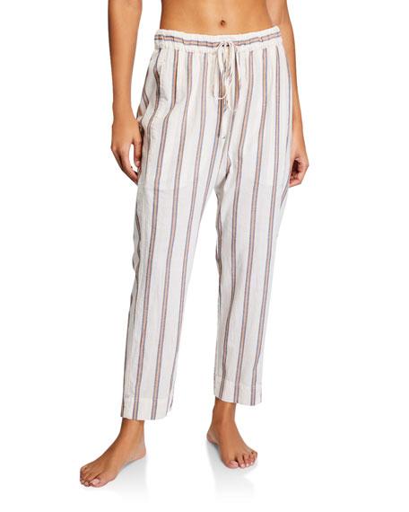 Xirena Draper Striped Poplin Pants