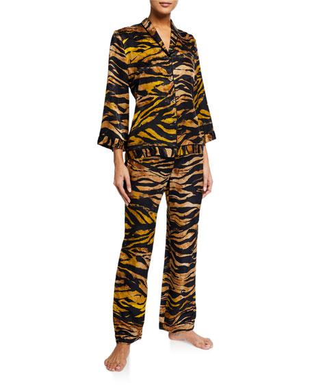 Josie Natori Tigress Classic Pajama Set