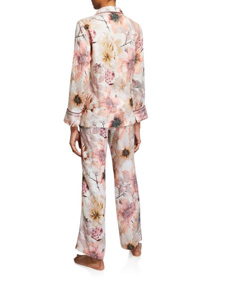 The Lazy Poet Emma Classic Floral-Print Pajama Set