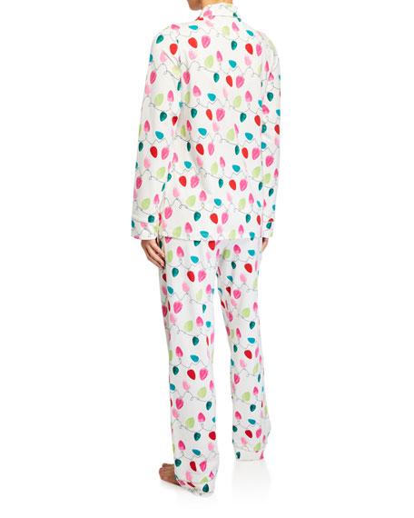BedHead Pajamas String of Lights Classic Pajama Set