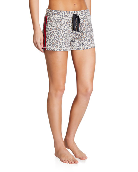 PJ Salvage Wild Heart Terry Cloth Shorts