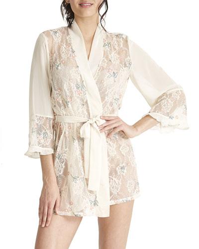 Keepsake Lace Coverup Robe