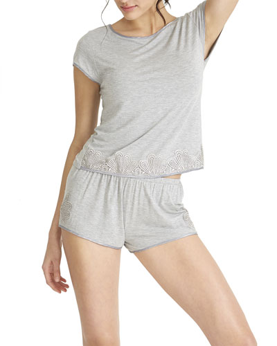 Artisan Knit Shortie Pajama Set