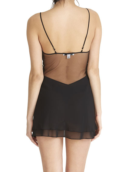 Rya Collection Modesty Embroidered Chemise