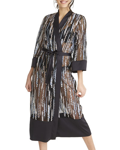 Modesty Semisheer Long Robe