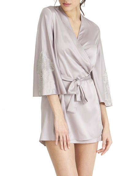 Rya Collection Artisan Satin Coverup Robe
