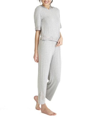 Artisan Knit Pajama Set