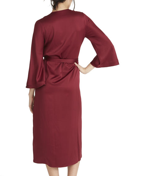 Rya Collection Fresh Solid Knit Robe