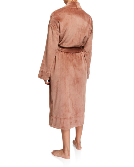 Skin Whitney Plush Long Robe