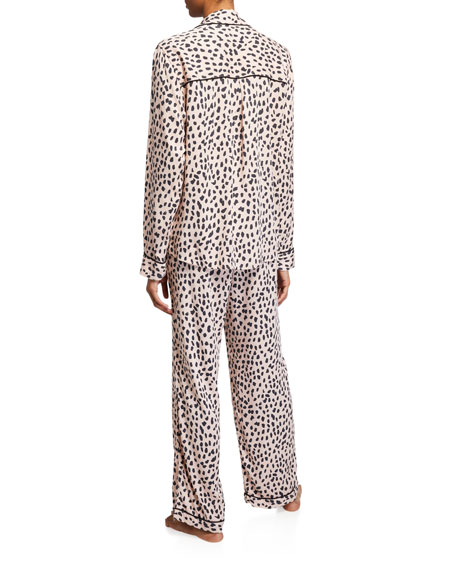 Rails Clara Classic Leopard Pajama Set