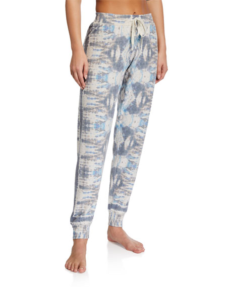 PJ Salvage Tie-Dye Days Jogger Pants