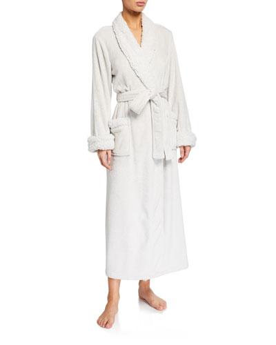 Plush Long Robe