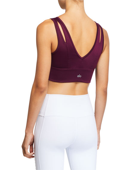 Alo Yoga United Longline Sports Bra