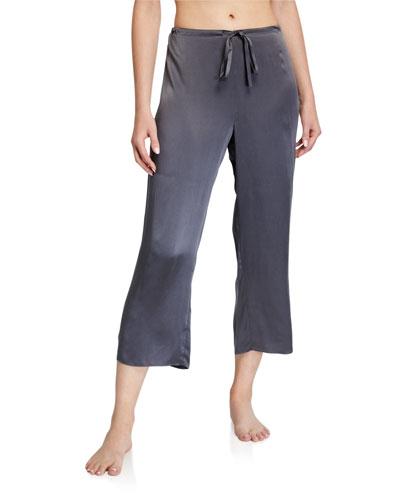 Crop Washable Silk Pants