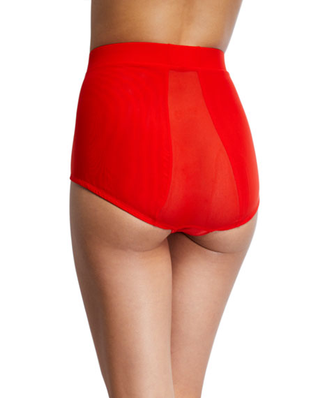 HAH / We Are HAH High-Waisted Mesh Briefs