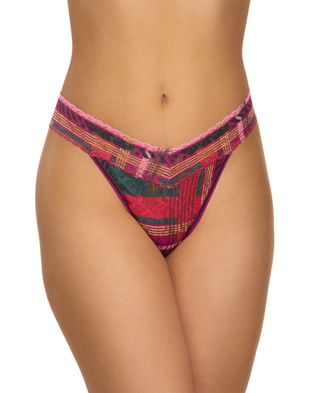 Hanky Panky Rolled Striped Original-Rise Thong