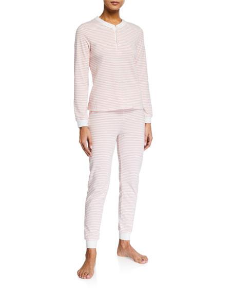 Morgan Lane Kaia Striped Pajama Set