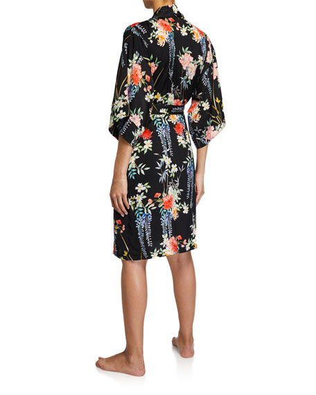 Image 2 of 2: Lise Charmel Patio Glycine Floral Short Robe
