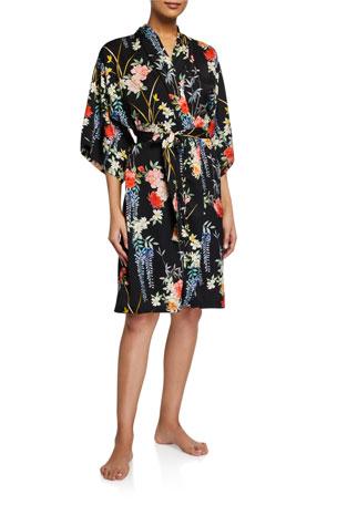 Lise Charmel Patio Glycine Floral Short Robe