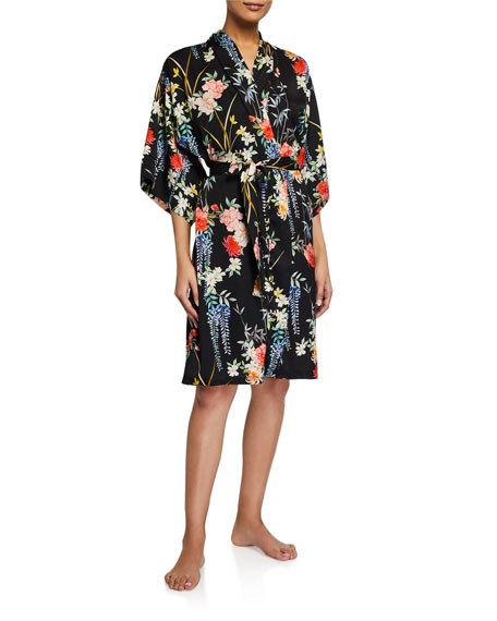 Image 1 of 2: Lise Charmel Patio Glycine Floral Short Robe