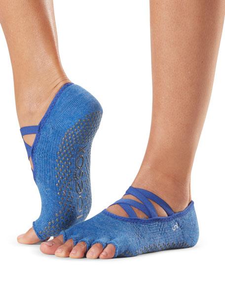 ToeSox Elle Strappy Half-Toe Grip Socks
