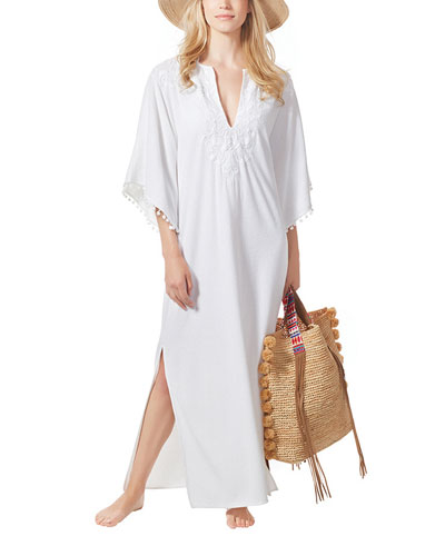 Vista Long Coverup Caftan