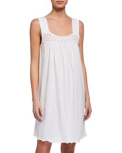 Hortensia Crochet Sleeveless Nightgown