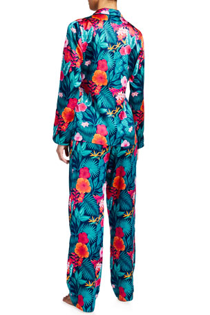 Derek Rose Pyjama  Womens Ranga Brushed Cotton Nightshirt S=10 M=12 L=14 XL=16