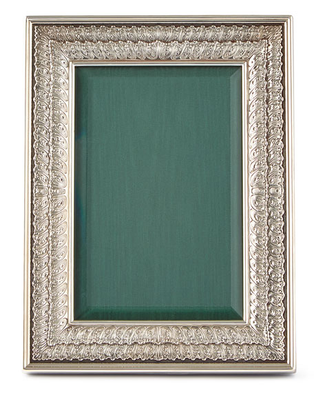 "Double-Linenfold Frame, 4"" x 6"""