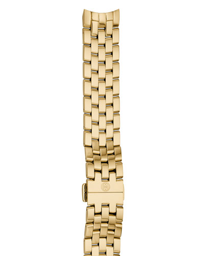 Belmore 18mm Gold-Plated Bracelet Strap
