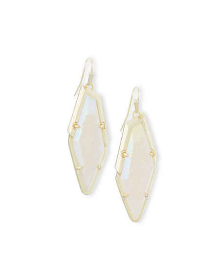 Kendra Scott Bex Statement Drop Earrings, Clear