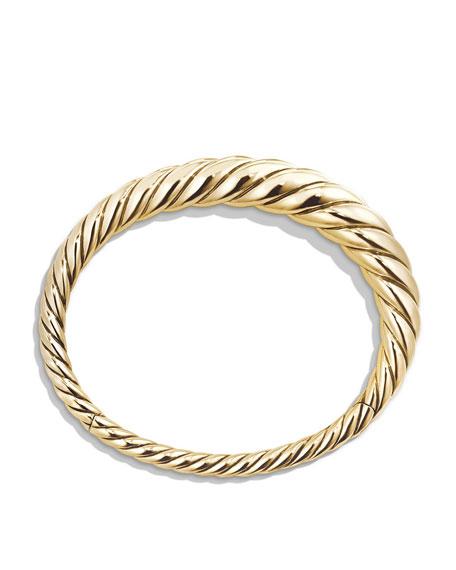 9.5mm Pure Form Cable 18K Bracelet, Size S