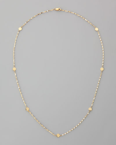 """Lana Disc-Station Layering Necklace, 18""""L"""
