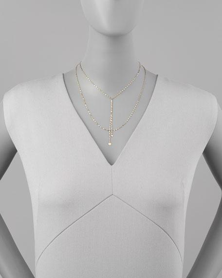 Blake 14k Gold Lariat Necklace