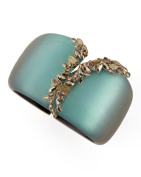 Neo Boho Ombre Large Faceted Vine Cuff