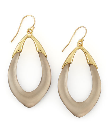 Neo Boho Orbit Link Drop Earrings