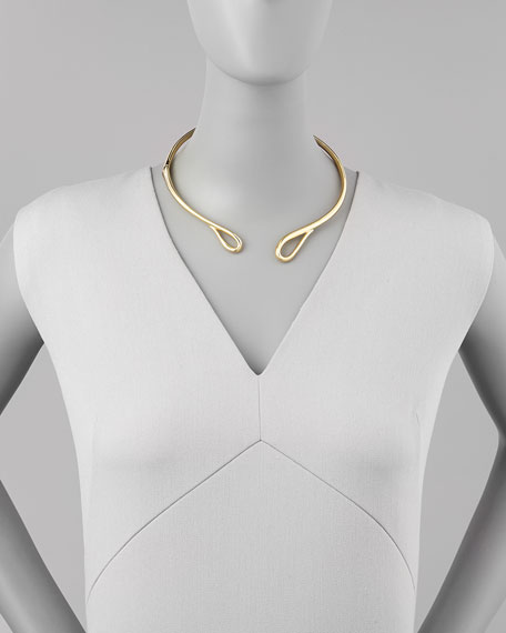 Miss Havisham Hinged Infinity Collar Necklace
