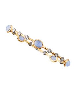 Alexis Bittar Elements Sodalite Lace Bangle
