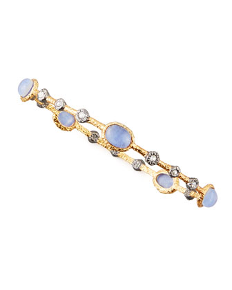 Elements Sodalite Lace Bangle