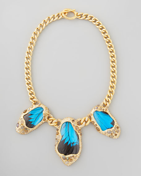 Butterfly-Wing Necklace