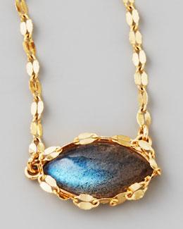 LANA Labradorite Charm Necklace