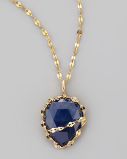 LANA Blue Sapphire Pendant
