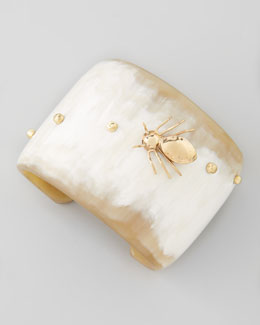Ashley Pittman Light Horn Spider Cuff