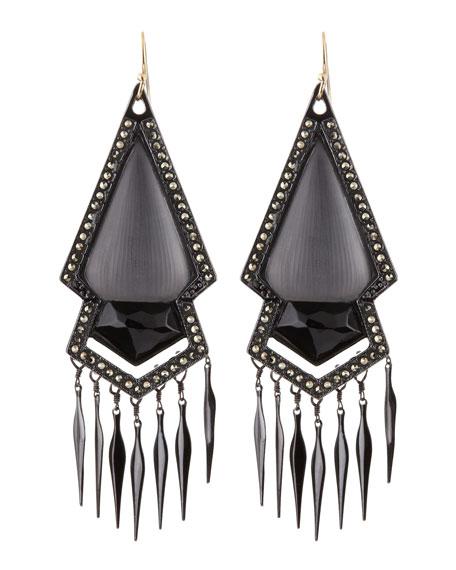 Santa Fe Deco Large Earrings