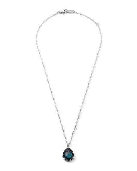 Rock Candy Medium London Blue Topaz Pendant Necklace