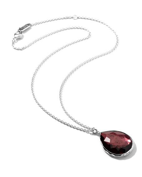 Rock Candy Large Boysenberry Pendant Necklace