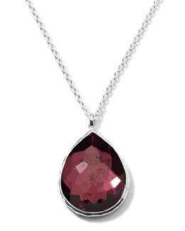Ippolita Rock Candy Large Boysenberry Pendant Necklace