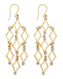 Alexis Bittar Crystal-Studded Chandelier Earrings